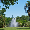 Fountain in Parque Oeste