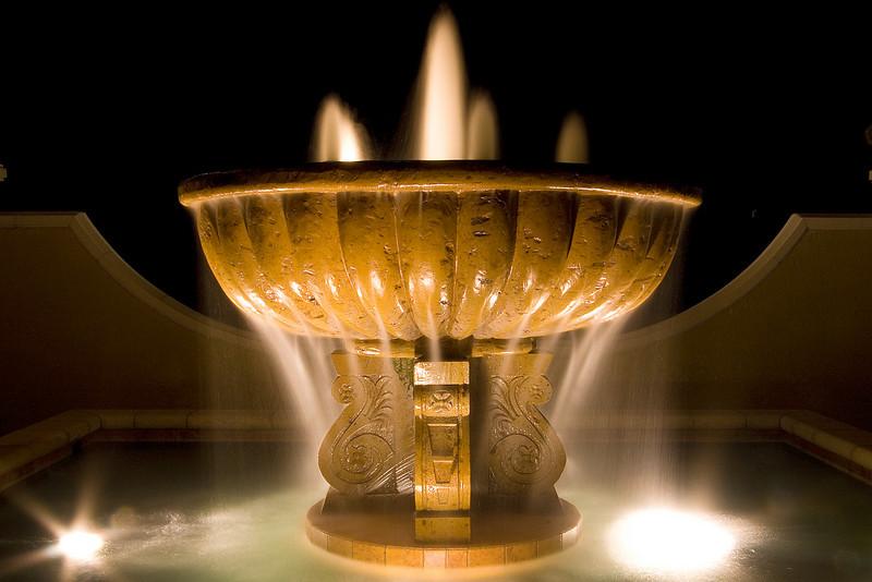 Fountain outside Navona