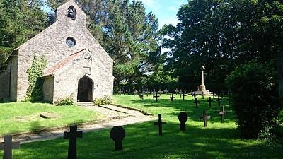 St David,s Church Caldey Island