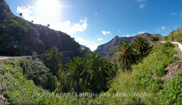 Masca valley panorama