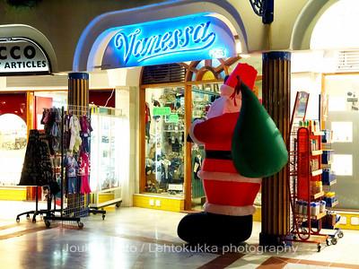 Blown up Santa