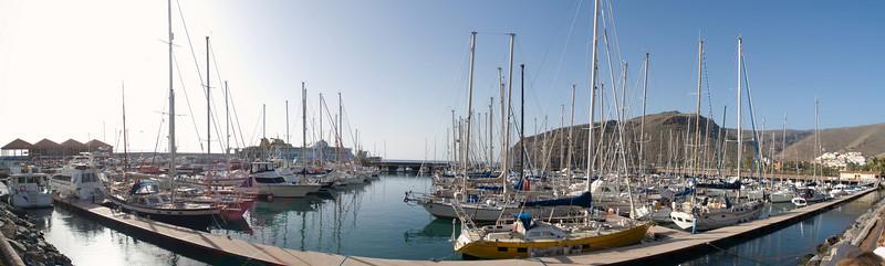 La Gomera, boat harbour