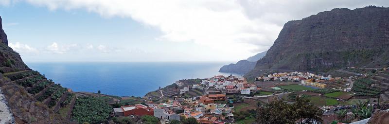 Aguio de La Gomera, panorama