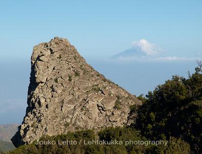 Rogue de la Zarcita, El Teide (Tenerife) in the back