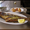 A whole fish is ready to be served
