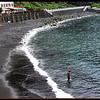 Playa San Marcos....beach of black volcanic sand