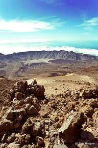 Mount Teide South face.