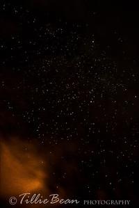 Mount Teide by Night. Star Scape