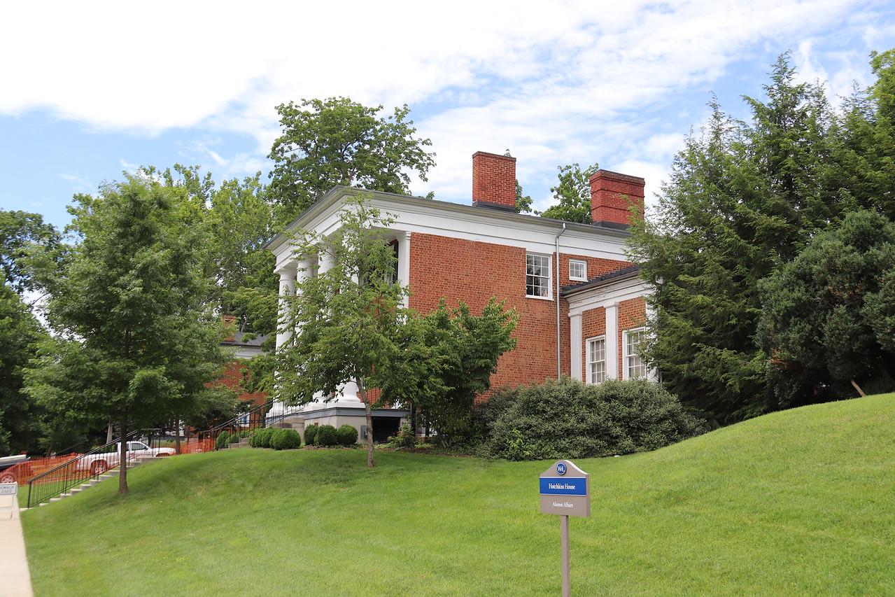 Washington and Lee Hotchkiss House Alumni Affairs June 24, 2017