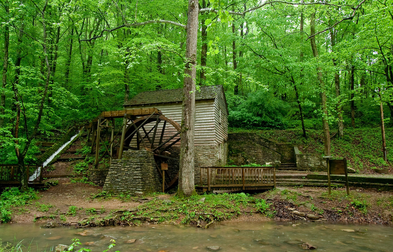 Grist Mill in Norris Dam State Park