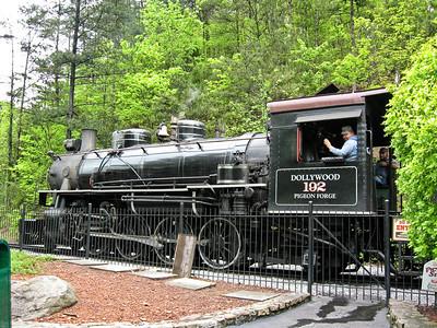 1743 Steam Train