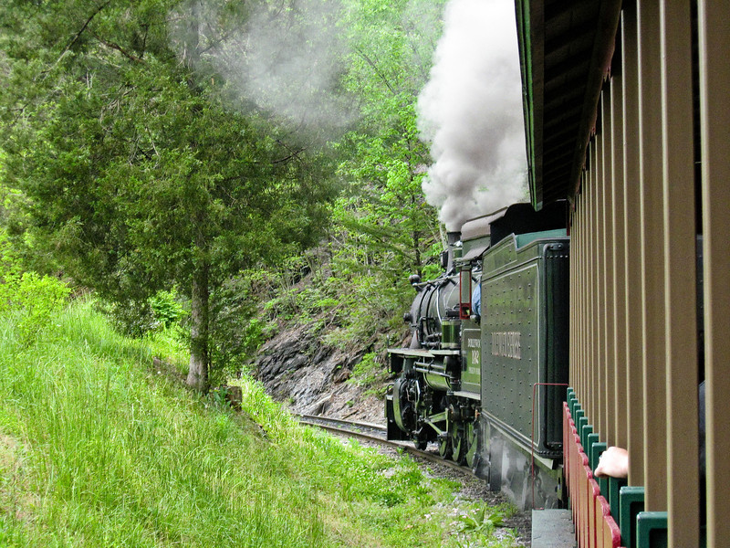 1721 Steam Train Ride