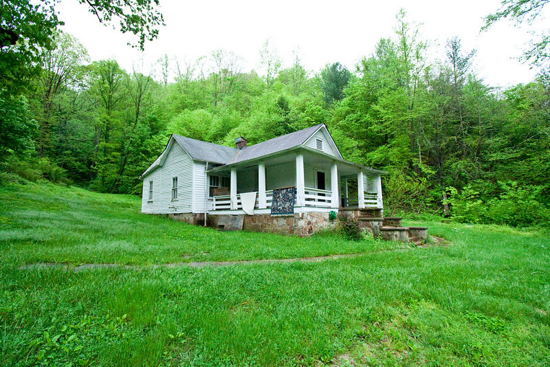 The Robin Phipps house in Pineville, Kentucky.