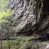 Curve of the rock cliffs at Upper Piney Falls, TN<br /> 9/13/08