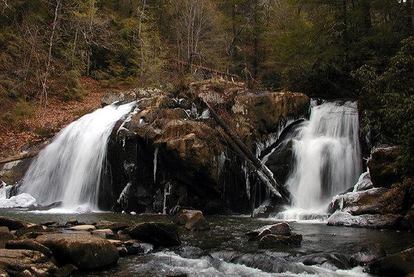 Upper Turtletown Falls<br /> Turtletown Scenic Area, TN