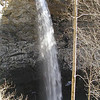 110 ft drop off Ozone Falls.