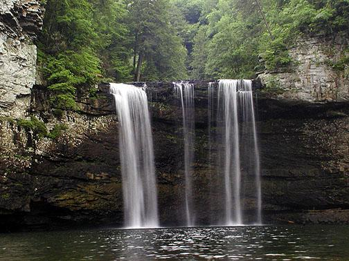 Cane Creek Falls <br /> Fall Creek Falls State Park, TN