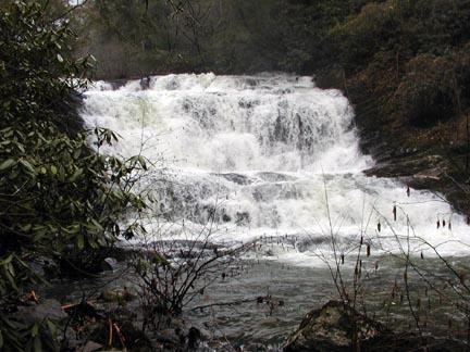 Conasauaga Falls in Conasauga Canyon , TN