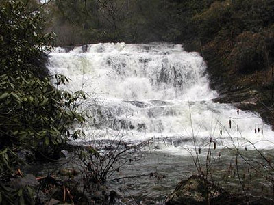 Conasauaga Falls in Conasauga Canyon , TN