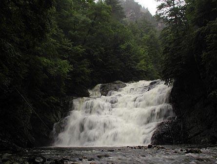 Laurel Falls, Dennis Cove, TN