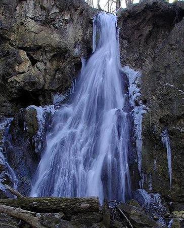 Fall Branch Falls near Jonesboro TN