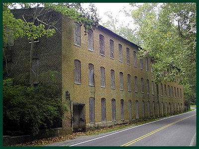 Rock Island State Park Cotton Mill TN