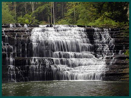 Middle Falls at Burgess Falls SNA, TN