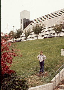 Knoxville,TN was close enough to SMNP in 1980 to spend a few days here Brett got to skip school for this excursion