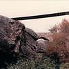 Suspension Bridge From Below - Rock City, Chattanooga, TN - 4/5/85