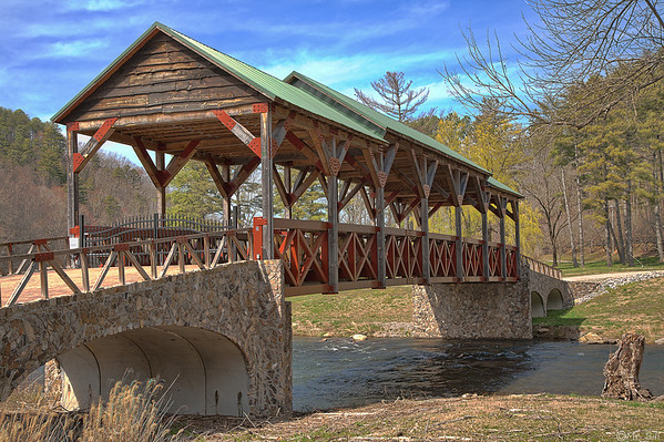 Covered Bridge in Tellico Plains, TN