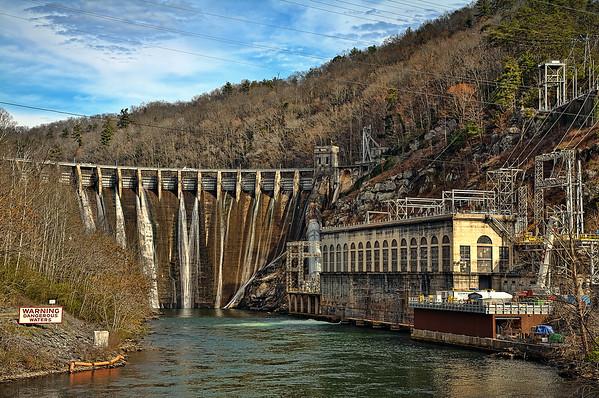 Cheoah Dam at Tapoco, NC