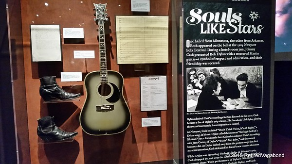 Johnny Cash  Exhibit