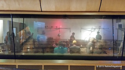 Looking inside the recording studio