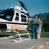 Randal and Donna Before Helicopter Ride near Pigeon Forge, TN  4-10-97