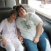 Louise and Robin Enjoying the Ride - Tennessee Valley Railroad Museum - Chattanooga, TN