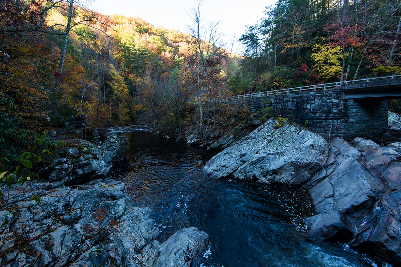 Little Pigeon River in Great Smoky Mountains National Park - October 2014