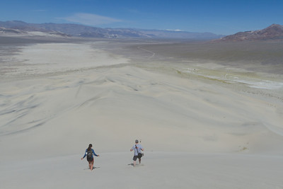 Tepui Staff at the Eureka Dunes, Death Valley National Park, Ca.
