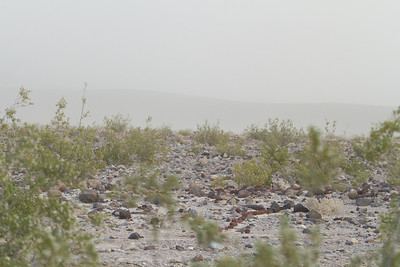 Sand Storm in the Warm Springs area of Saline Valley.