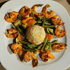 "grilled shrimp in <a href=""http://www.kpuchinos.com.mx/"">K'Puchinos</a> restaurant"