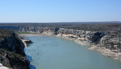 Pecos River.  Desolate country