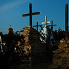 Terlingua Cemetary at Dusk