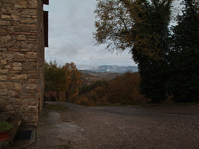 Looking back towards Monterchi and Citerna)