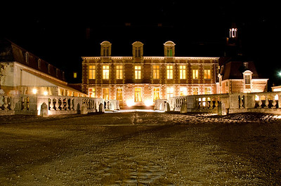 Chateau Etoge at Night