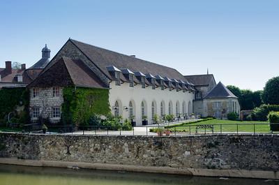 Orangerie restaurant, Chateau Etoge