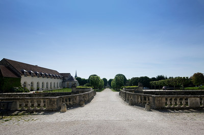 Orangerie and Driveway