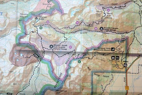 Teton Crest Hike Day 1