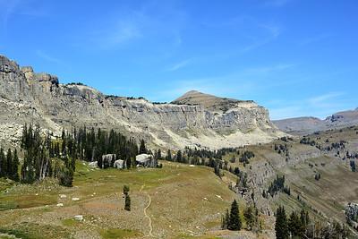 Death Canyon Shelf Trail