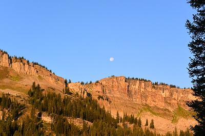 Moon Over the Ridge