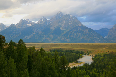 The Snake River Overlook.  A location made famous by one of Ansel Adam's photographs.