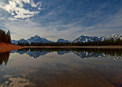 Jackson Lake, Moonlight